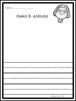 Women's History Month Biography Reports