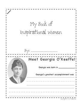 Women's History Month Booklet