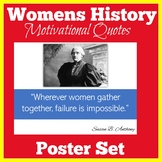 Womens History Month Bulletin Board Set