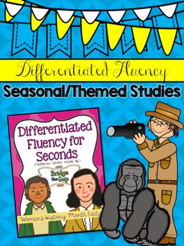 Women's History Month Fluency Freebie
