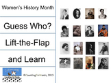 Women's History Month: Lift-the-Flap and Learn