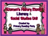 Women's History Month Literacy and Social Studies Unit
