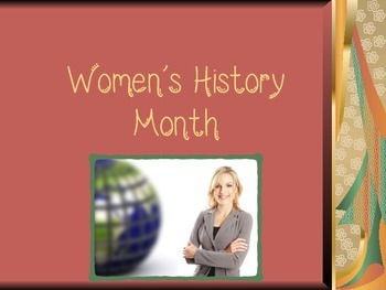 Women's History Month Power Point