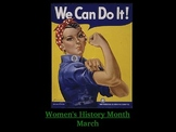 Women's History Month PowerPoint