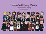 Women's History Month Social Studies - History Kindergarten and 1st Grade