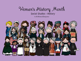 Women's History Month Social Studies - History Kindergarten and 1st Grade