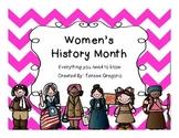 Women's History Month ~ Social Studies Unit