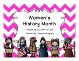 Women's History Month ~ Social Studies Unit