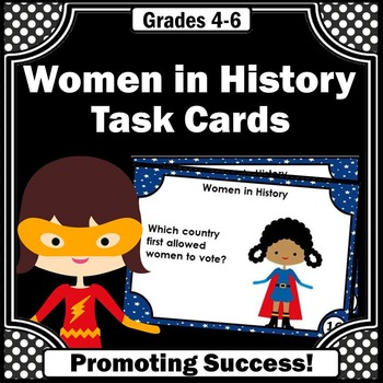 Women's History Month Activities, Famous Women Research