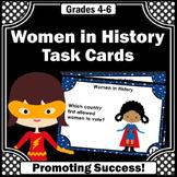Women's History Month Activities, Famous Women Social Studies Research Project
