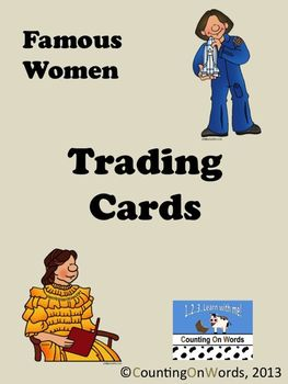 Women's History Month: Trading Cards