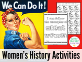 Women's History Month Unit: Rosie the Riveter is Ready to Print!