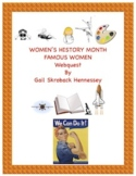 Women's History Month: A Webquest