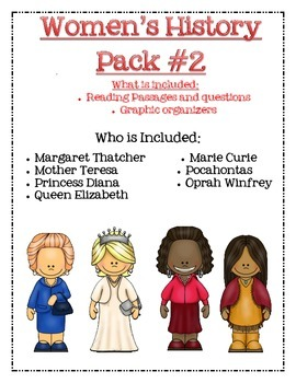 Women's History Pack #2