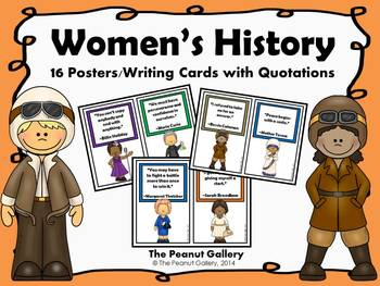 Women's History Posters/Writing Cards