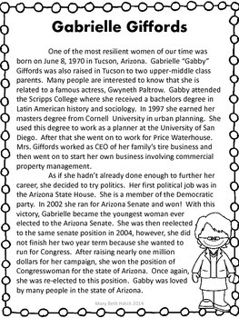 Women's History Reading Comprehension Set 2 by ...
