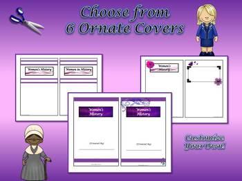Women's History Research Mini-Book Activity Common Core