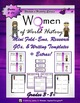 Women's History and World Leaders Mini Research Fold-Em Bundle