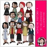 Womens History clip art - Set 4 - by Melonheadz