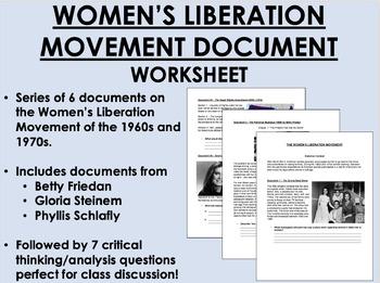 Women's Liberation Movement - 1960s & 1970s - US History/APUSH