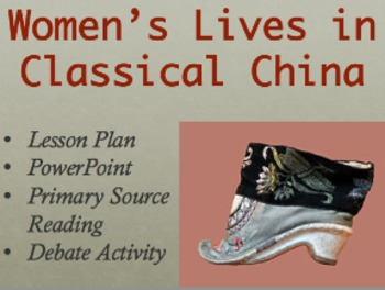 Women's Lives in Classical China