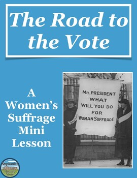 Women's Suffrage Mini Lesson