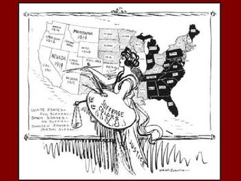 Women's Suffrage Movement Powerpoint
