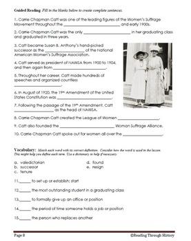 Women's Suffrage Movement: Unit 2