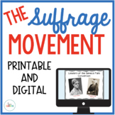 Women's Suffrage Movement {with Scaffolded Notes}