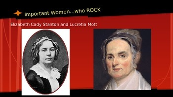 Women's Suffrage Presentation; Introduction or Review