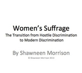 Women's Suffrage Simulation