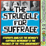 Women's Suffrage: The Struggle for Suffrage from Seneca Falls to 19th Amendment!