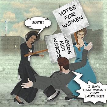 Women's Suffrage - Comic Book