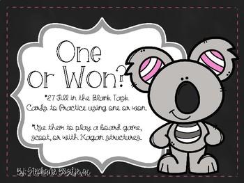 Won or One (Homophones)
