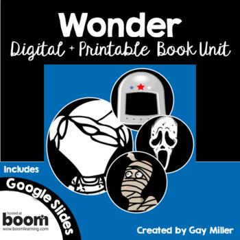 Wonder [Palacio] Novel Study