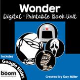 Wonder Novel Study  [Palacio]: Digital + Printable Book Unit