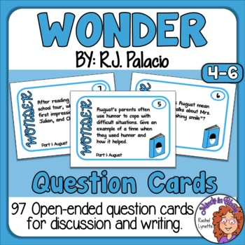 Wonder Question Cards