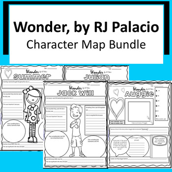 Wonder - Character Map Bundle