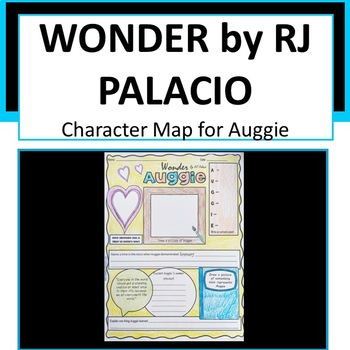 Wonder - Auggie Character Map