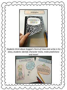 Wonder by RJ Palacio Interactive Notebook