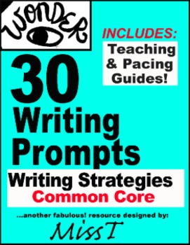 Wonder - 30 Writing Prompts