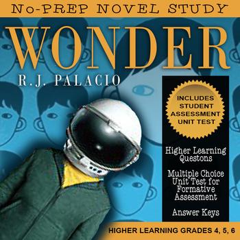 Wonder Novel Study / First Chapter, Ordinary + Answer Key