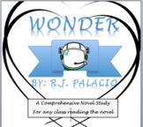 Wonder R.J. Palacio novel Study