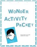 Wonder Activity Packet