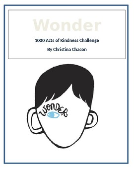 Wonder Acts of Kindness Challenge