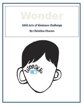 Wonder Acts of Kindness Challenge
