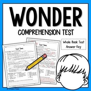 Wonder Test by RJ Palacio