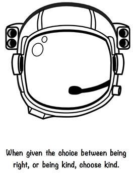 Wonder Astronaut Helmet by Lesson Grace | Teachers Pay ...