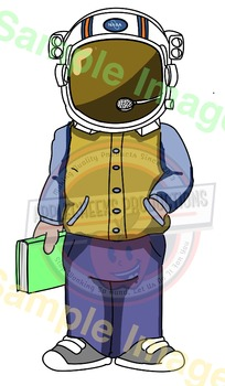 Wonder Auggie Pullman Clip Art  Clear Background Perfect for Bulletin Boards