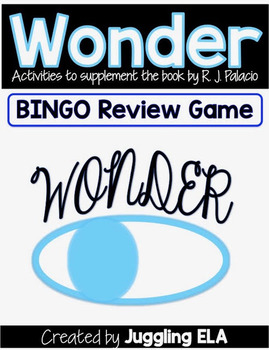 Wonder Bingo Review Game